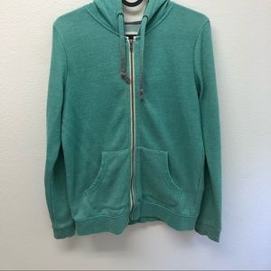 Roxy Zipper Hooded Sweatshirt